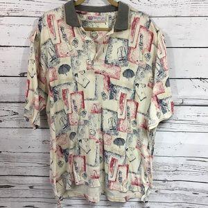 Slazenger - Men's Golf shirt XL